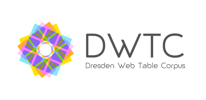 Preview for research project: Dresden Web Table Corpus (DWTC)